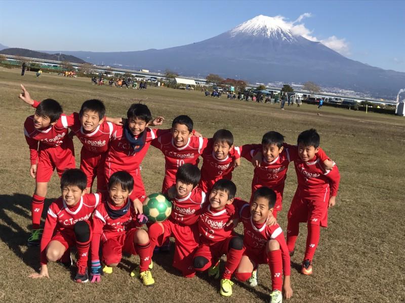 煌びやかな富士山