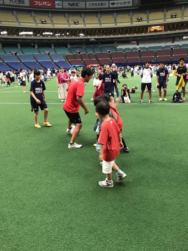 三浦選手とサッカー
