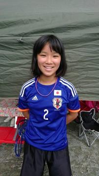 石川萌絵選手